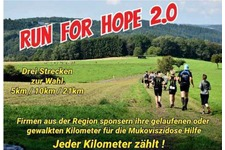 Ausschnitt aus Plakat Run for Hope 2018