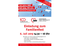 Einladung AWO Familienfest