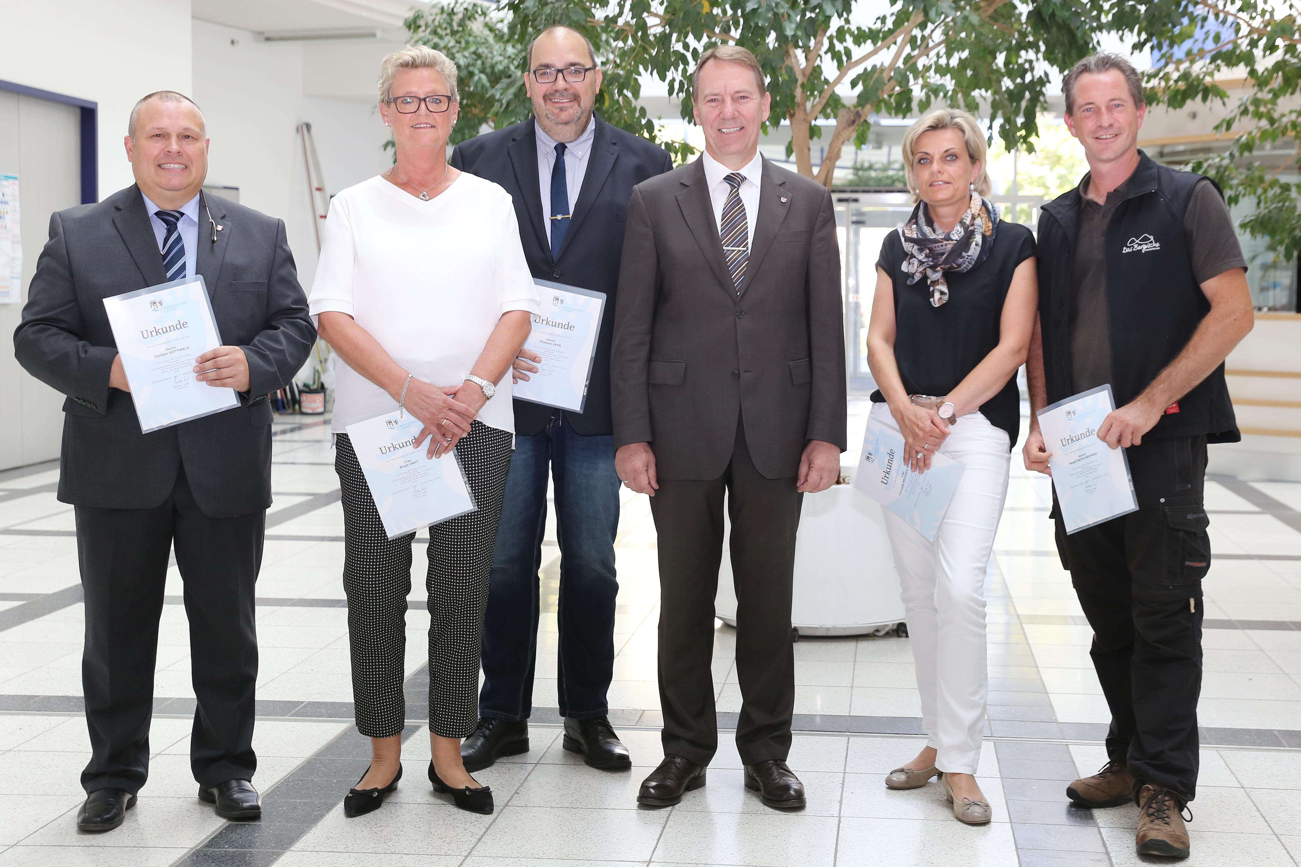 Oberbergischer Kreis: 125 Jahre Kreisverwaltung - Landrat Jochen ...