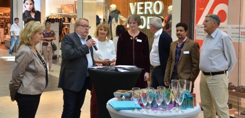 Vernissage im Forum Gummersbach. (Foto: Ralph Holst)