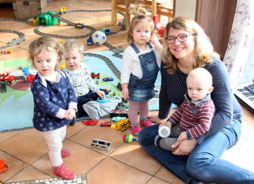 Christina Jacobs ist Tagesmutter in Lindlar. (Foto: OBK)