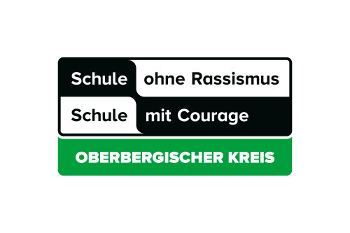 Logo Schule ohne Rassismus - Schule mit Courage im Oberbergischen Kreis. (Foto: OBK)