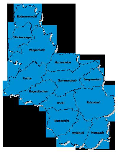 Oberbergischer Kreis Lage Und Anfahrt