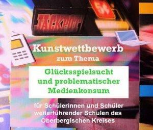 Plakat Spielsucht