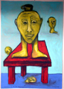 "Wolfgang Sawinski  ""Prince of the red chair"""